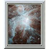 Framed Canvas Wall Art Print | Home Wall Decor Canvas Art | This Image Shows The Orion Nebula, a Nebula Where Stars are Born. Spitzer. | Modern Contemporary Decor | Stretched Canvas Prints