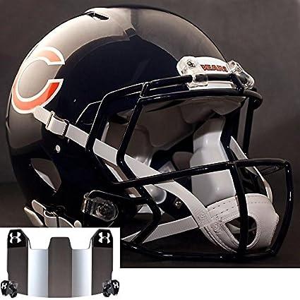 Riddell velocidad Chicago Bears NFL auténtico casco de fútbol con  cu-s2bd-sw casco 4b5b580dedb