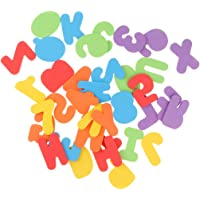 Baosity 36PCS Floating Alphabet & 0~9 Numbers Stickers Kids Bath Tub Bathroom Toy