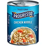 Progresso Soup, Traditional, Chicken Noodle Soup, 19 oz Can