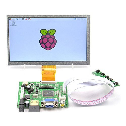 GeeekPi 7 inch 1024 x 600 HDMI Screen LCD Display with Driver Board Monitor for Raspberry Pi by GeeekPi (Image #6)