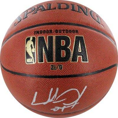 Charles Oakley Steiner Signed Basketball-Indoor Outdoor