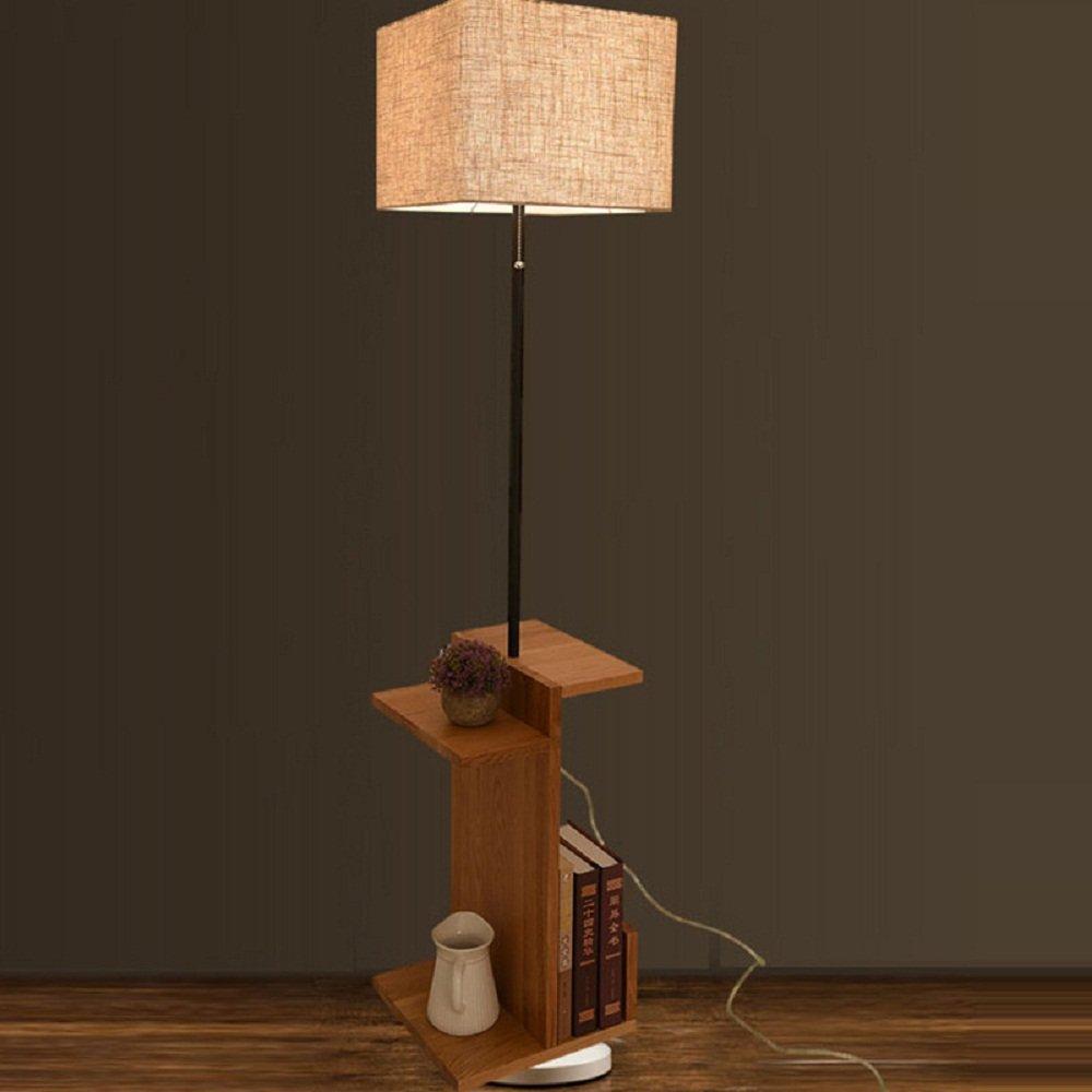Lighting Groups Nordic Modern Minimalist Fashion Coffee Decorative Cabinet Table Floor Lamp Living Room European American Table Lamp Creative Bedside Floor Lamp (Linen)