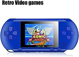 """Consolas De Juegos Portátiles, SZUHAJ 2.7 """"LCD 16 Bit Reproductor De Video Juego Portátil El Mejor Regalo De Navidad Para Niños Niños Construido En Más De 100 juegos"""