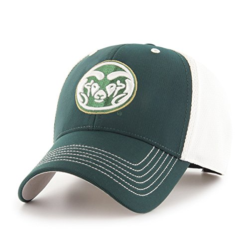OTS NCAA Colorado State Rams Sling All-Star Adjustable Hat, Dark Green, One Size (State Logo Colorado Rams)