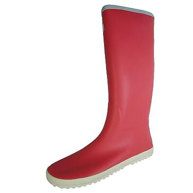 Vivobarefoot Women Waterloo Knee High Rain Boot Shoe, Coral, 35 EU/US 5.5