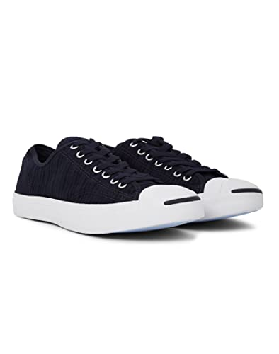 5b96f47c35c5 Converse Jack Purcell Seersucker Canvas Ox Trainers Blue 9 UK ...