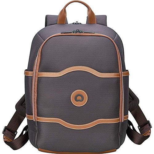 DELSEY Paris Luggage Chatelet Soft Air Travel Backpack Fashion, Chocolate, One Size (Best Chocolate Store In Paris)