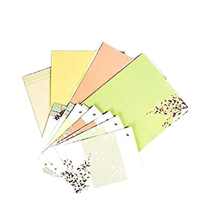32 cute letter writing paper letter sets with 8 envelopewriting stationery paperassorted