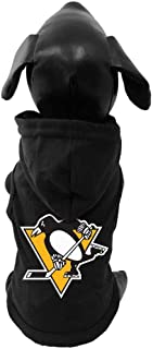 product image for All Star Dogs NHL Unisex NHL Pittsburgh Penguins Cotton Hooded Dog Shirt
