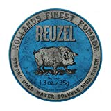 Reuzel Blue Strong Hold High Sheen Pomade, 1.3 Fluid Ounce