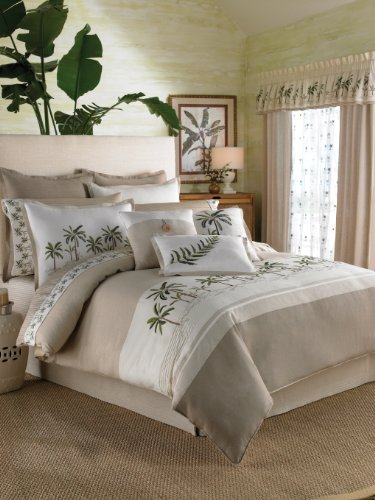 Croscill Fiji Twin Comforter 4-Piece Set (Croscill Bedding Window)
