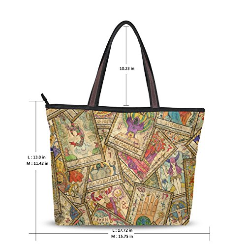 Mydaily Women Multicolor Polyester Fabric Bag For P4PSwq