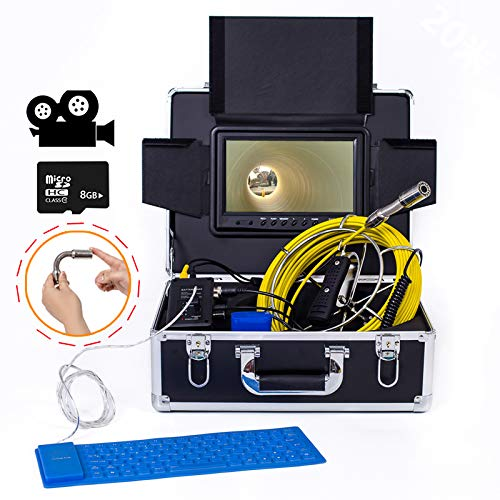 【公式】 9インチ23MM ビデオ 産業パイプライン下水道検出カメラ IP68 防水排水検出 1000 1000 IP68 TVL カメラ DVR ビデオ (20M、30M、40M、50M),40M B07Q3FY5VQ 50M 50M, カーテンインテリア シロヤマ:0e31a477 --- arianechie.dominiotemporario.com