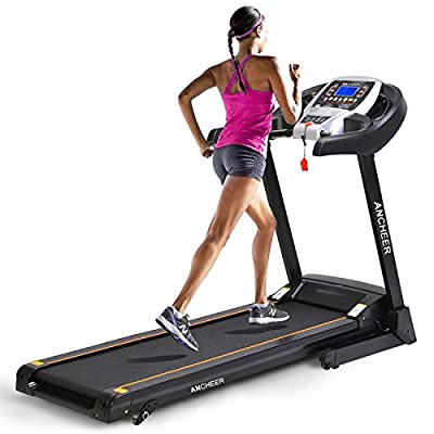 Ancheer Folding Electric Treadmill