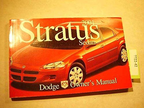 2001 Dodge Stratus Sedan owners manual