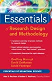 Essentials of Research Design and Methodoly