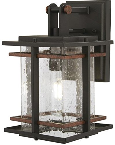 - Minka Lavery Outdoor Wall Light 72491-68 San Marcos Exterior Wall Lantern, 1-Light 60 Watts, Black