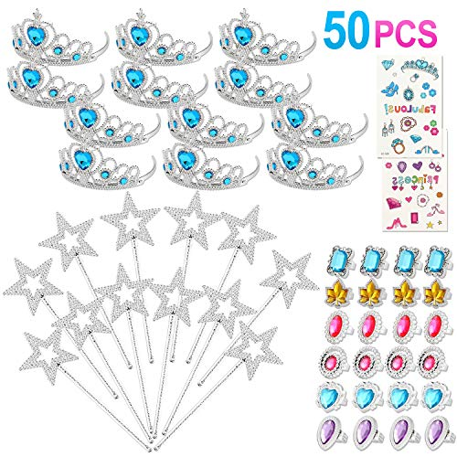 Princess Pretend Jewelry Crowns Supplies product image