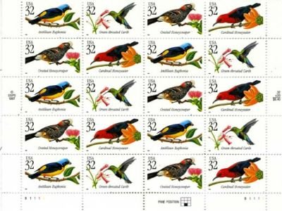 Top 10 Best Bird Postage Stamps