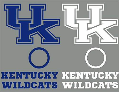Kentucky Wildcats Cornhole Decal Set - 6 Cornhole