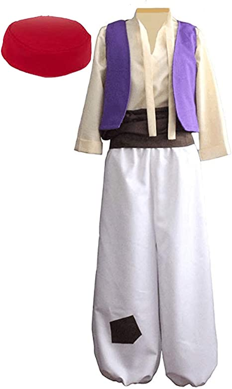Amazon.com: Disfraz árabe de príncipe para hombre, disfraz ...