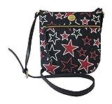 Tommy Hilfiger Womens Crossbody Bag Stars Red White