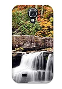 Awesome Mill On The River Flip Case With Fashion Design For Galaxy S4