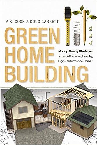 Green Home Building: Money-Saving Strategies for an Affordable, Healthy,  High-Performance Home: Miki Cook, Doug Garrett: 9780865717794: Amazon.com:  Books
