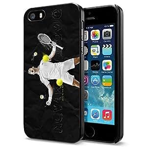 TENNIS Player Action Novak Djokovic, Cool iPhone 5 5s Case Cover (Smartphone)