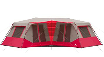 Ozark Trail 25u0027 x 12u00276u0026quot; Instant Double Villa Cabin Tent ...  sc 1 st  Amazon.com : ozark trail tents 10 person - memphite.com