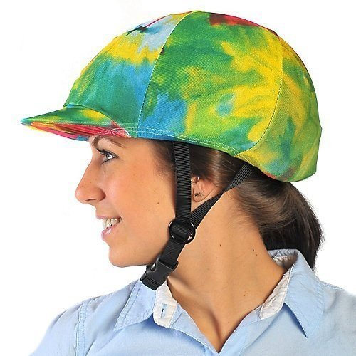 Ovation Zocks Helmet Covers Multi Horse