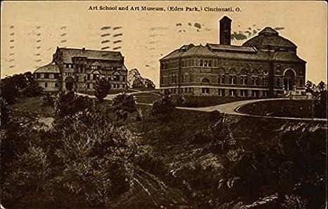 Art School And Art Museum Eden Park Cincinnati Ohio Oh Original Vintage Postcard At Amazon S Entertainment Collectibles Store