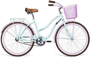 Bicicleta Mercurio Cruiser R26, para Dama, Azul Pastel/Rosa