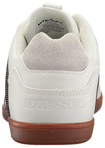 Diesel Heren Happy Hours S-zip Luxx Sneaker Vies Wit