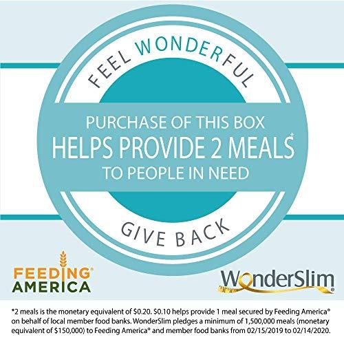 WonderSlim High Protein Meal Replacement Bar - High Fiber, Kosher, Variety Pack - 3 Box Value-Pack (Save 5%) by WonderSlim (Image #4)