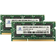 "Adamanta 16GB (2x8GB) Apple Memory Upgrade for Late 2015 iMac 27"" DDR3L 1867Mhz PC3L-14900 SODIMM 2Rx8 CL13 1.35v RAM"