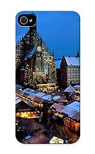 Freshmilk Ultra Slim Fit Hard Case Cover Specially Made For Iphone 5/5s- Christkindl Market, Nuremberg, Bavaria, Germany