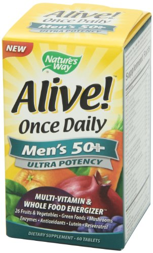 033674156919 - Nature's Way Alive Once Daily Men's 50+ Ultra Potency Tablets, 60 carousel main 7