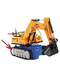 Universal Flashing Wheel Musical Excavator Car Kid Children Boy Toy Builder Machine