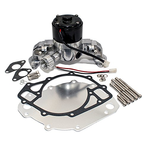 Assault Racing Products 6046000 Chrome Aluminum Big Block Ford BBF 429 460 Electric Water Pump HV
