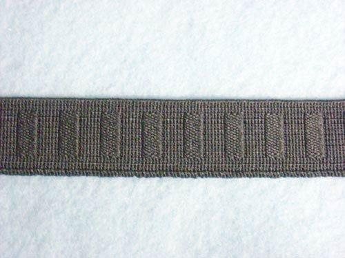 Roll Flat Non (Wholesale Flat Woven Non Roll Elastic - Black 3/4