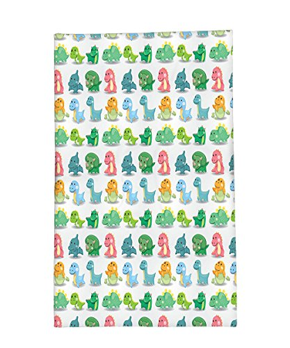 Bible Costumes Times Patterns (Interestlee Fleece Throw Blanket Jurassic Decor Colorful Dinosaur Pattern Beast Fantasy Primeval Times Happiness Kids)