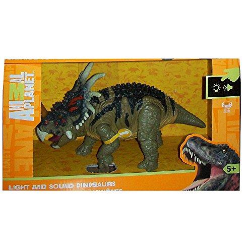Animal Planet Light and Sound Dinosaur - Styracosaurus -