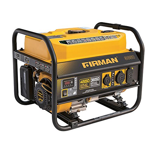 Firman P03607 4550 3650 Watt Recoil Start Gas Portable Generator CARB Certified