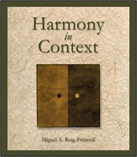 Book Harmony in Context by Roig-Francoli, Miguel (2002)