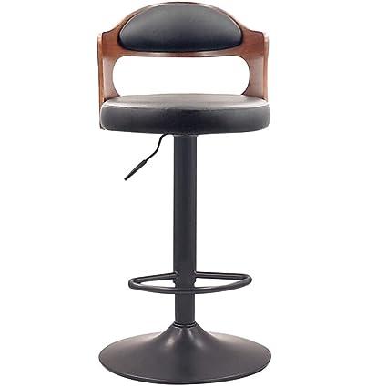 Tremendous Amazon Com Modern Creative Wrought Iron Bar Stool Lifting Customarchery Wood Chair Design Ideas Customarcherynet