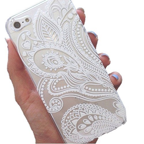 iphone-5s-case-wendys-storestm-clear-plastic-case-cover-for-apple-iphone-5-5s-5g-henna-white-floral-