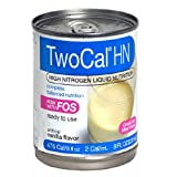 2 cal hn - Twocal HN Calorie and Protein Dense Nutrition, Ready to Use, Vanilla, 8-Ounce Cans (Pack of 24)