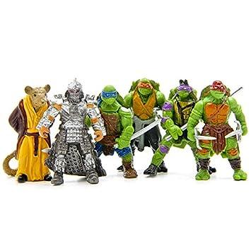 Tortugas Ninja - Teenage Mutant Ninja Turtles - Pack de 6 ...